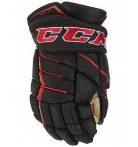 Hokejové rukavice CCM JETSPEED FT390 SR BLK-RED