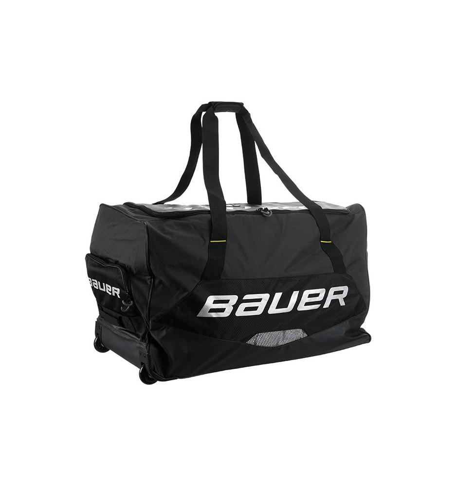 Hokejová taška  BAUER S19 PREMIUM WHEEL BAG BLACK - ČIERNA