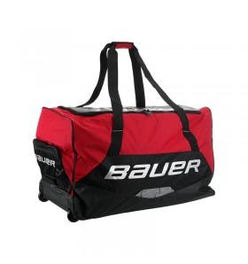 Hokejová taška  BAUER S19 PREMIUM WHEEL BAG RED - ČERVENÁ