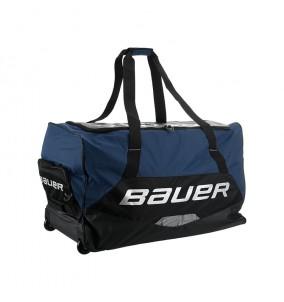 Hokejová taška  BAUER S19 PREMIUM WHEEL BAG NAVY - TMAVO MODRÁ
