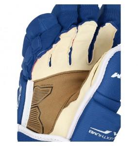 Hokejové rukavice CCM TACKS 4R PRO SR BLU-WHT