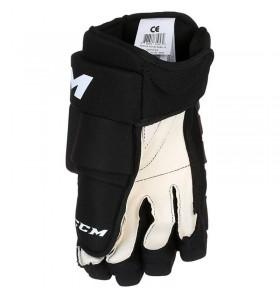 Hokejové rukavice CCM T4R III SR BLK-WHT