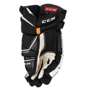 Hokejové rukavice CCM Tacks 9080 SR BLK-WHT