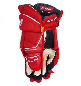 Hokejové rukavice CCM Tacks 9080 JR RED-WHT